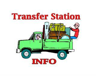 Transfer Station Info