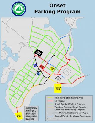 2018 Parking Map